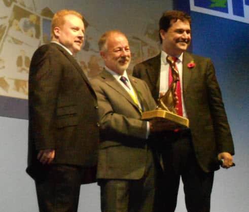 Chris Field (PMI UK Chapter President), David Hillson and Ricardo Vargas