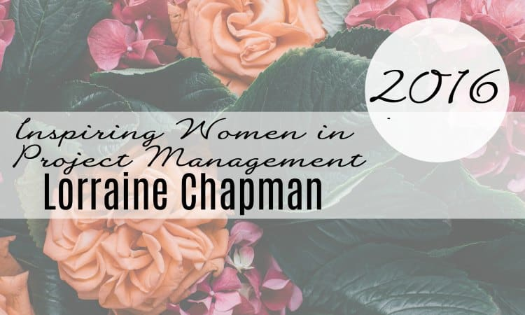 Lorraine Chapman interview