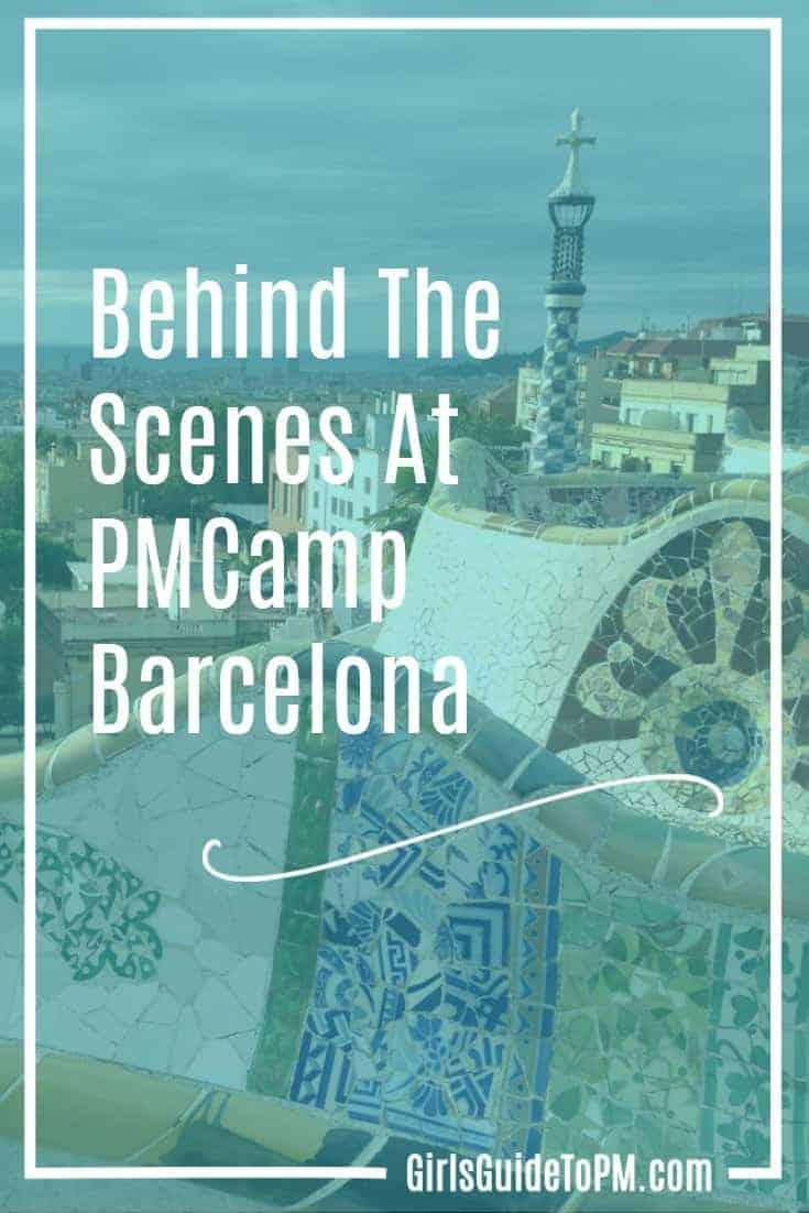 Behind the scenes at pmcamp barcelona myagileplm - Project management barcelona ...