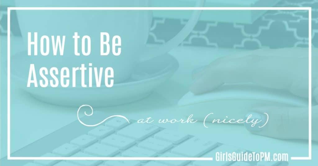 Assertive at Work