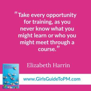 Elizabeth Harrin quote