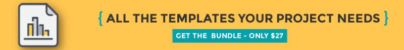 essential project management template bundle