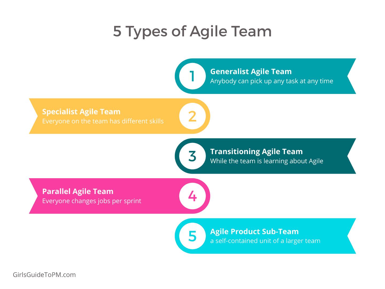 5 types of agile team
