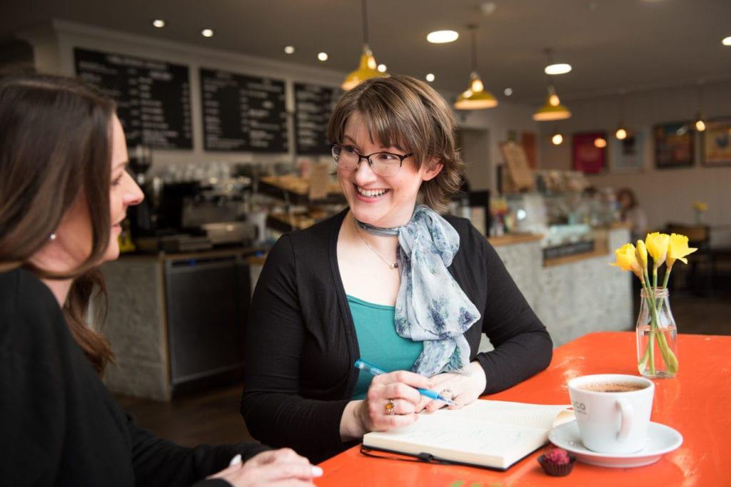 Elizabeth Harrin mentoring