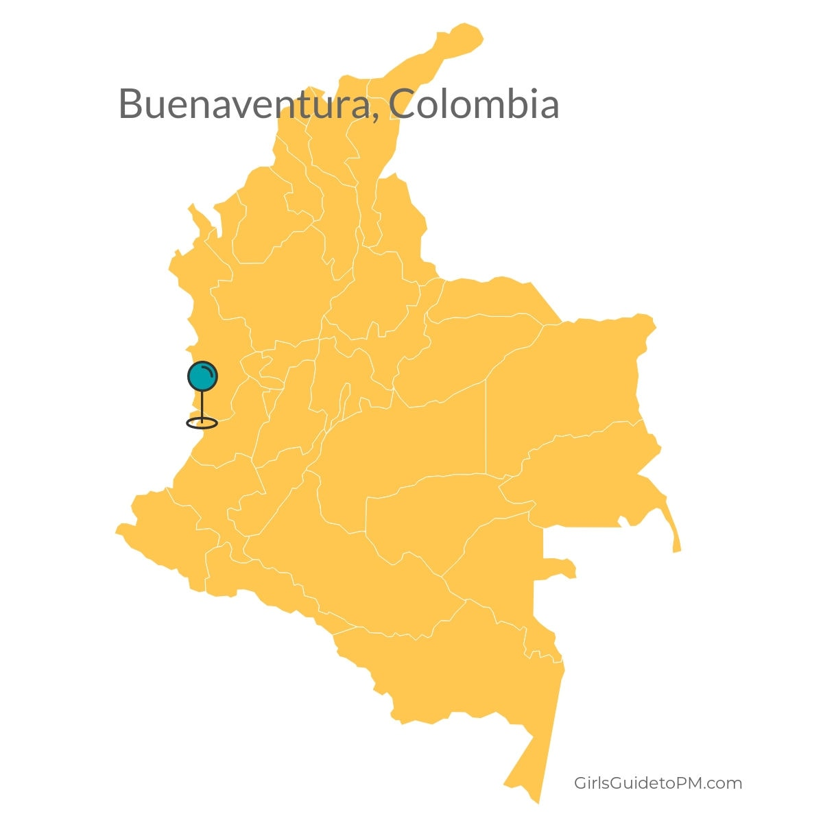 Buenaventura Columbia map